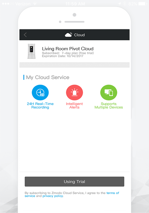 Cloud subscription 5